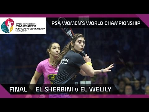 Squash: El Sherbini v El Welily - PSA Women's World Championship Final Highlights