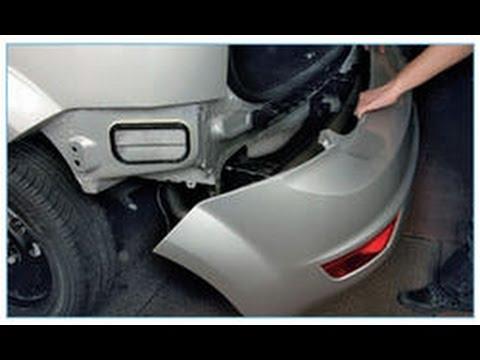 регулировка заднего бампера форд фокус