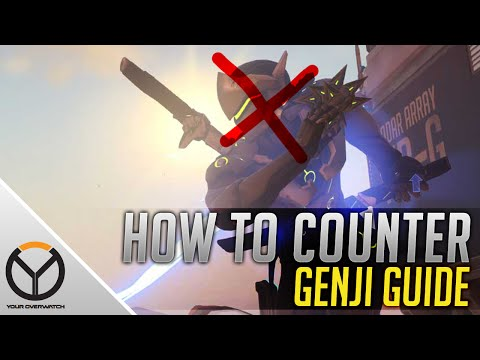 Overwatch Guide: How To Counter A Great Genji