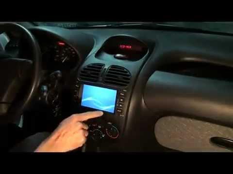 NUEVO! ESTEREO para Peugeot 206 con DVD y GPS ARGENTINA