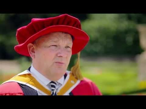 Kevin Oakes: Honorary Doctor of Staffordshire University