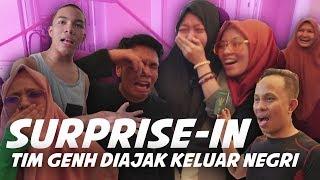 Video Surprise-in Tim GenHalilintar Yang Gak Pernah Ke Luar Negri *NANGIS* Diajak Pergi MP3, 3GP, MP4, WEBM, AVI, FLV Juni 2019