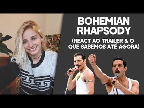 BOHEMIAN RHAPSODY - React ao trailer e o que sabemos sobre o filme até agora