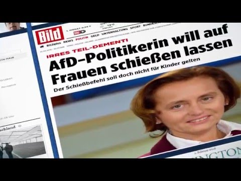 AfD: Frauke Petry und Beatrix von Storch - #SCHIESS ...
