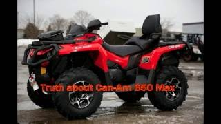 7. Truth about Can Am Outlander 650 Max