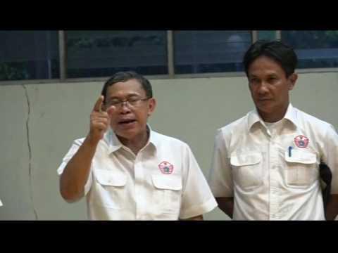Kunjungan Ketua Kontingen DKI Djamhuron Ke Cabor Gulat