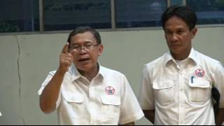 KONI DKI - Kunjungan Ketua Kontingen DKI Djamhuron Ke Cabor Gulat