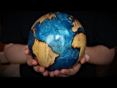 Woodturning: Creating a Beautiful Globe