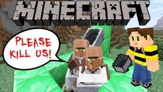 Minecraft: Annoying Cart Troll Machine (Easy Peasy Build)