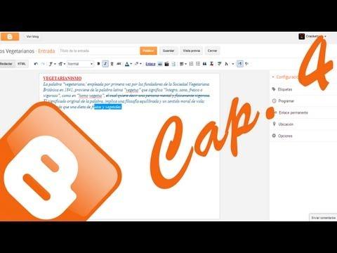 Cap. 4 Blogger – Creacion, seo e indexacion de articulos part 1