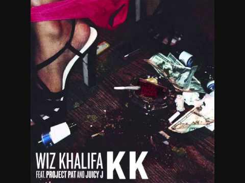 Wiz Khalifa - KK (Ft. Project Pat & Juicy J) (Prod. By Jim Jonsin) with Lyrics!