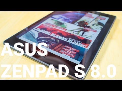 ASUS ZenPad S 8.0 hands on