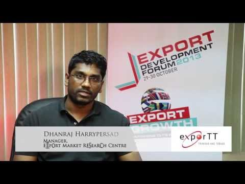 Dhanraj Harrypersad — Manager, Export Market Research Centre 1