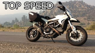 6. 2013 Ducati Hyperstrada Top Speed