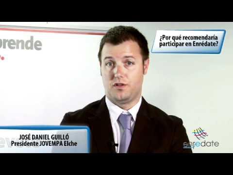 José Daniel Guilló Vergara - Entrevista Enrédate Elx-Baix Vinalopó 2012