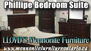 Mennonite Phillipe 7 piece Bedroom Suite