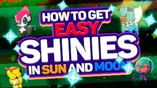 NEW SHINY METHOD IN POKEMON SUN AND MOON! How to Get Shiny Pokemon in Pokemon Sun and Moon! by aDrive