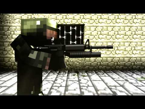 Battlefield 3 Minecraft Official Trailer