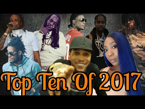 Top 10 Dancehall Songs Of The Year 2017 | January-December
