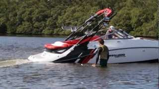 6. 2012 Sea-Doo DOO IT Wakeskate Instructional - Wake-to-Wake Toe Side Indy 180 with Nick Taylor
