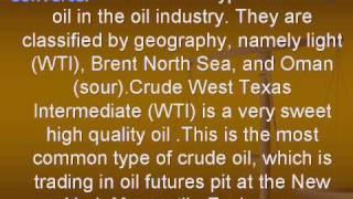 Oil Trading Basics