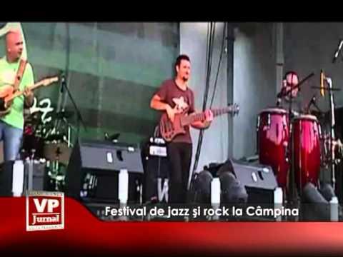 Festival de jazz şi rock la Câmpina