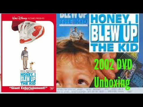 Unboxing Honey I Blew Up The Kid 2002 DVD