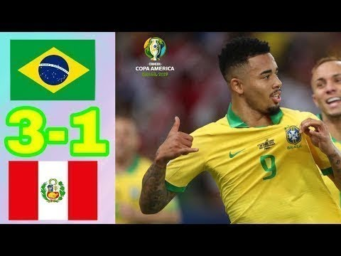 Brazil Vs Peru 3-1 Goals  Highlights - Final Copa America 2019 HD