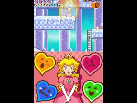 super princess peach nintendo ds game