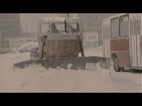 Bratislava - Snehová kalamita (1987)