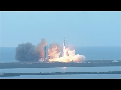 NASA TV Orion liftoff video