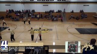 Argos Boys Basketball vs Clinton Christian