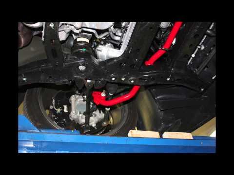 BMR Suspension Adjustable FE4 Sway Bars for 2010-Newer Camaros