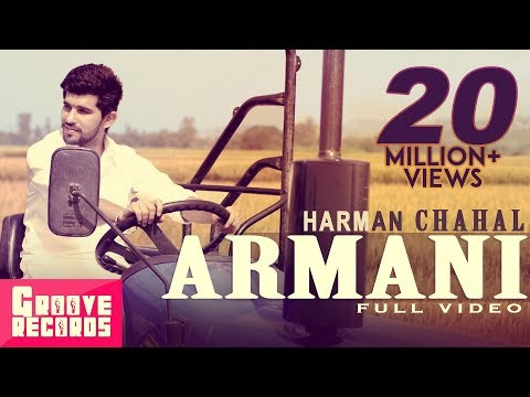 punjabi - Song - Armani Singer - Harman Chahal ( www.fb.com/officialharmanchahal ) Cast - Vgrooves , Jesleen Slaich Music - Mr. Vgrooves ( www.fb.com/vgrooves ) Lyrics...