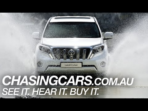 2014 Toyota Land Cruiser Prado Review (Prado GXL)—EXCLUSIVE Video Review—Chasing Cars Australia