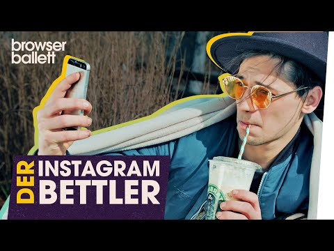 SATIRE: Der Instagram-Bettler