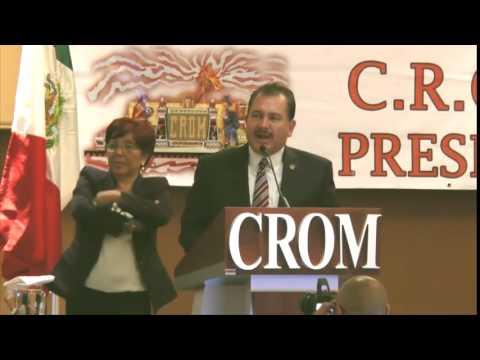 Clausura LXII Convenci�n Nacional de la CROM