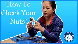 Checking Climbing Gear - Nuts and Wires by The Climbing Nomads