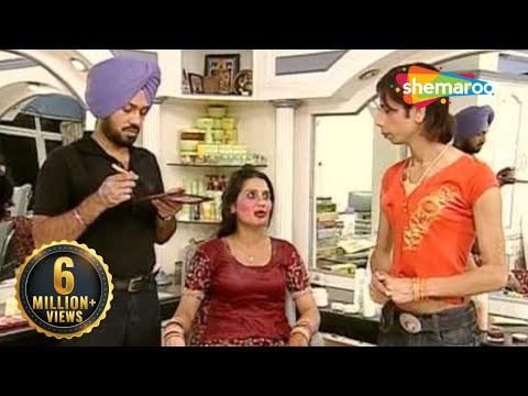 Ghuggi Set's Up A Beauty Parlour - Ghuggi Yaar Gupp Na Maar - Punjabi Comedy Scene
