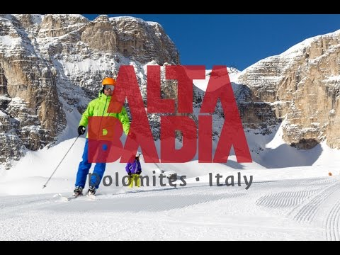 Alta Badia the best of Winter in the Dolomite Alps