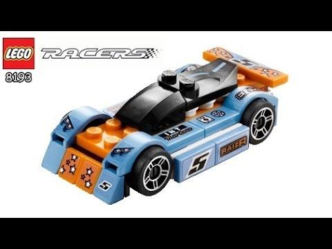 Vidéo LEGO Racers 8193 : Le Bolide Bleu
