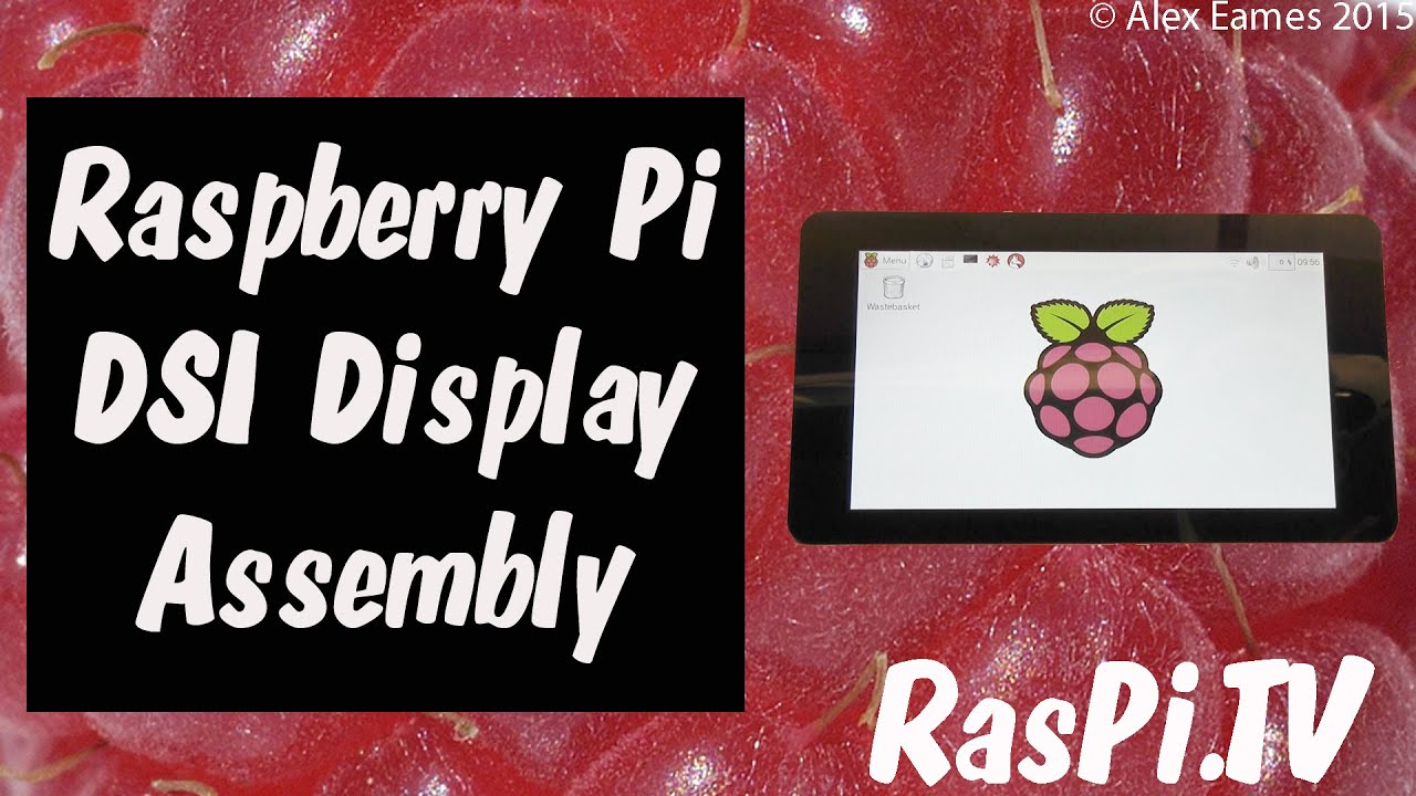 The official Raspberry Pi touchscreen display is here!