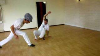 Kfar Szold Israel  city photos gallery : capoeira superman & mogli pt.1