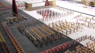 Video 1,000,000 Dominoes   The Incredible Science Machine Vidom MP3, 3GP, MP4, WEBM, AVI, FLV Maret 2018
