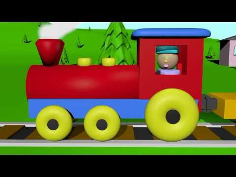 The Shape Train Learning for Kids