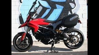 8. 2014 Ducati Hyperstrada 821 ABS ... ONLY 2962 miles!