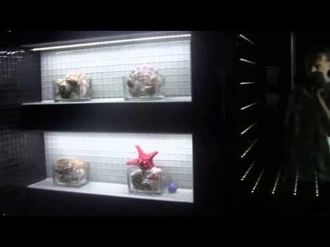 Zestaw Fugi - oświetlenie światłowodowe do fug, ścian, sufitu, podłogi