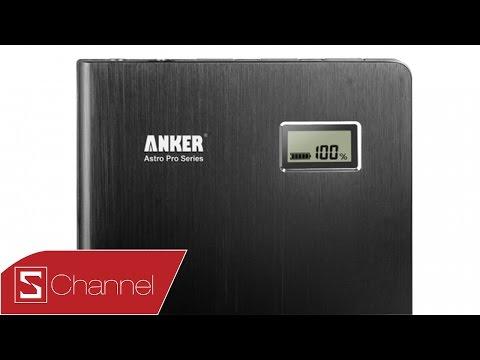 Giới thiệu sạc dự phòng Anker 2nd Gen Astro Pro 15000 mAh