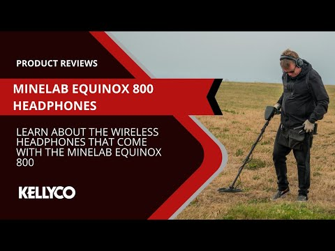 Minelab Equinox Headphones