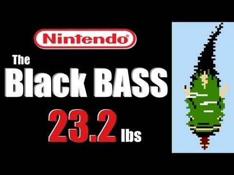 23 lb Largemouth – The Black Bass NES (Hat Cam Bass)